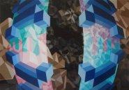 2012 acryl/linnen 100x140cm