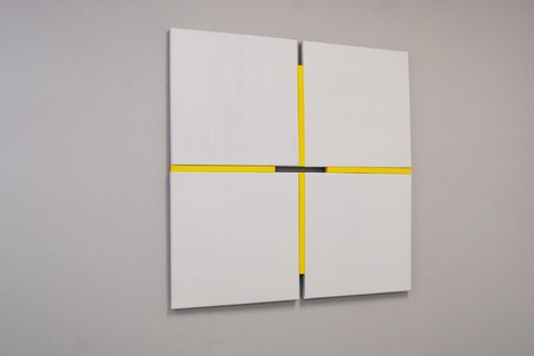 Tinee Porck Shifts light:yellow, 81,8x81,8 cm, oil on canvasconstruction, 2020  foto Henk Porck.jpg