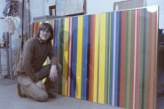 Portrait of the Artist as a young man. 1977