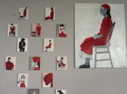 """Serie """" conclaaf in rood"""""""