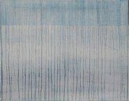 Abstractie in blauw