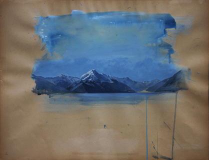 Mount Cook 1, Nieuw-Zeeland.
